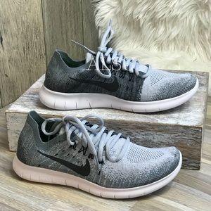 1ce4f413a632 Nike · Nike Free Rn Flyknit 2 Wolf Grey Black ...